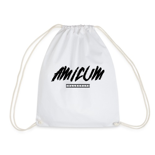 Amicum Collective 1st edition jacket - Drawstring Bag