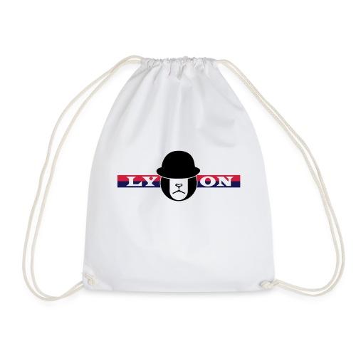 Motif Lyon + logo - Sac de sport léger
