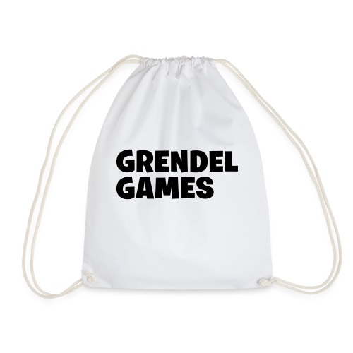 grendel text - Drawstring Bag