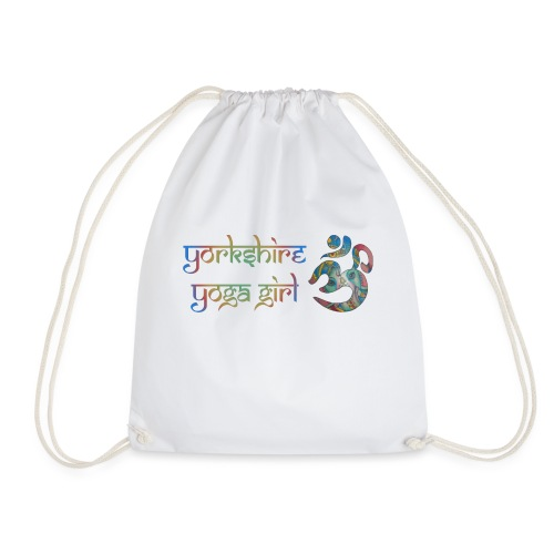 YYg Logo with Gradient - Drawstring Bag
