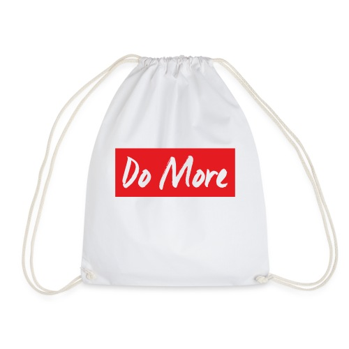 white logo color background - Sac de sport léger