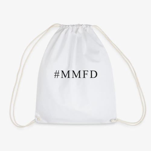 #MMFD in Schwarz - Turnbeutel