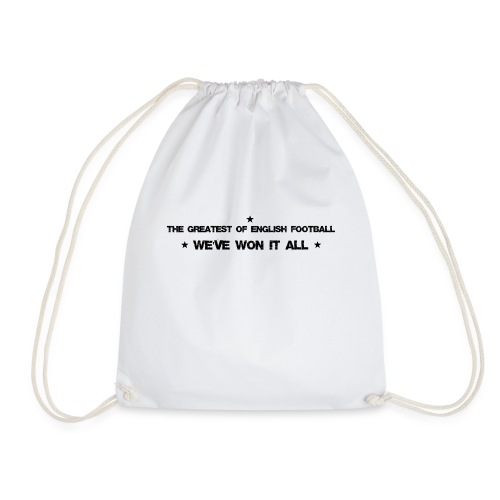 The greatest of English football - Drawstring Bag