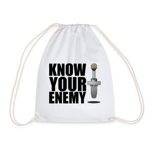 KNOW YOUR ENEMY - Turnbeutel