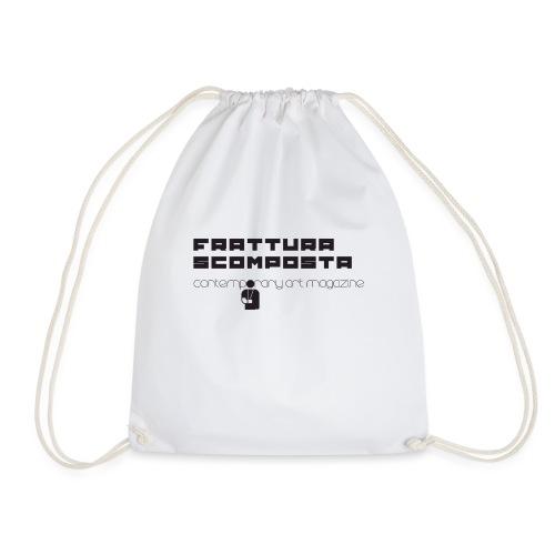 Logo Frattura Scomposta - Sacca sportiva
