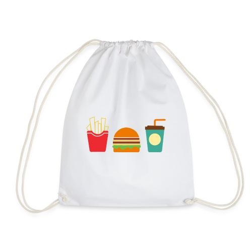 Fast Food - Sacca sportiva
