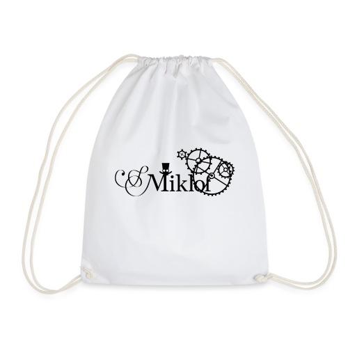 miklof logo black 3000px - Drawstring Bag