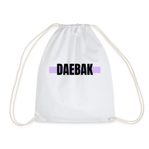 Daebak #violet - Sac de sport léger