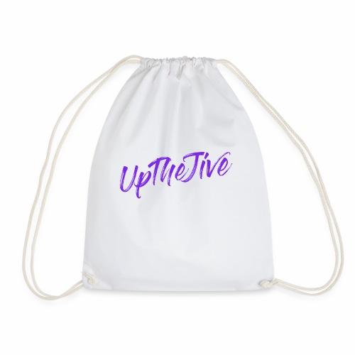 Up The Jive - Strap Logo - Drawstring Bag