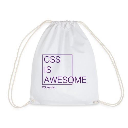 css is awesome - Turnbeutel