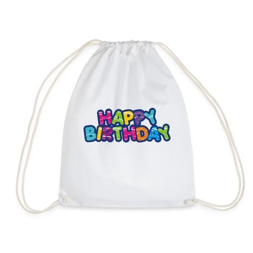 Happy Birthday Happy - Style - Turnbeutel