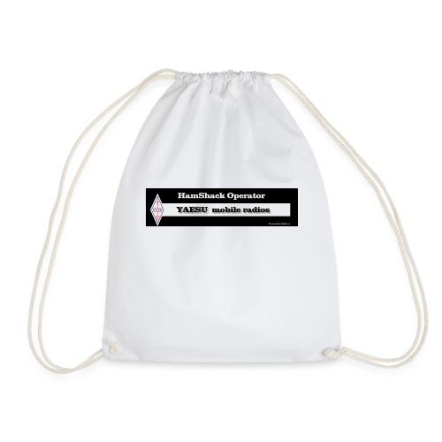 Tshirt Back Text YAESU mob - Drawstring Bag