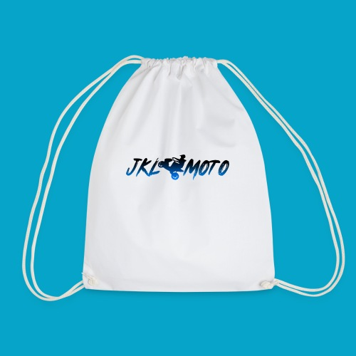 JKLMoto Aerox White - Gymnastikpåse