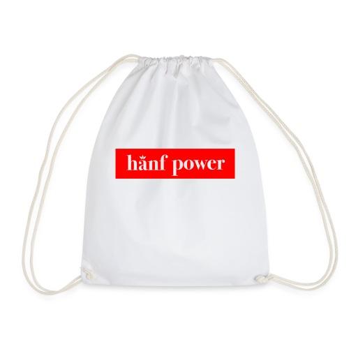 Hanf Power RED - Turnbeutel