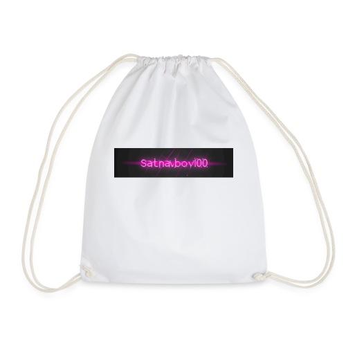 Satnavboy100 Shirt - Drawstring Bag