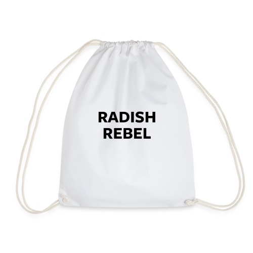 Radish Rebel - Drawstring Bag
