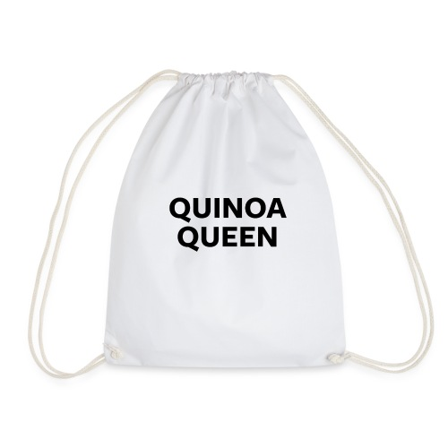 Quinoa Queen - Drawstring Bag