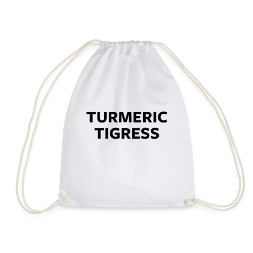 Turmeric Tigress - Drawstring Bag