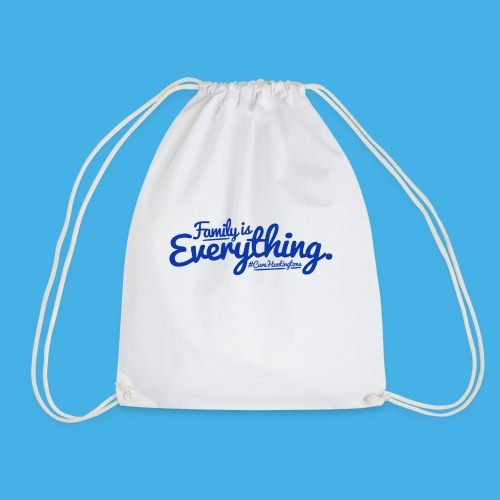 family is everything - Drawstring Bag