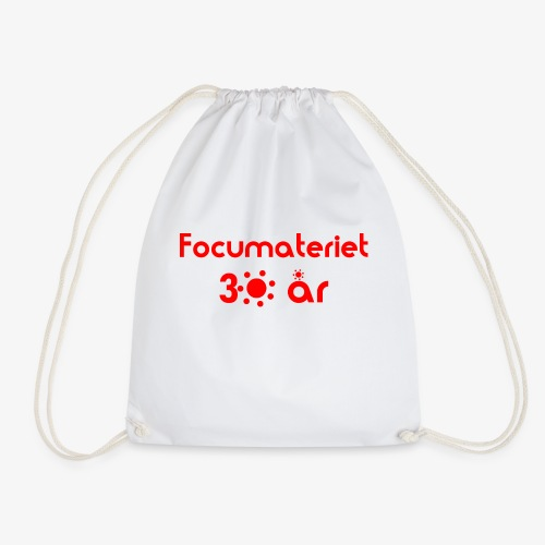 Focumateriet 30 år - Gymnastikpåse