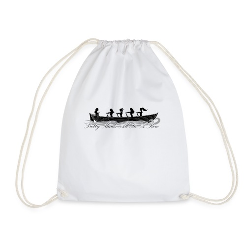 pretty maids all in a row - Drawstring Bag