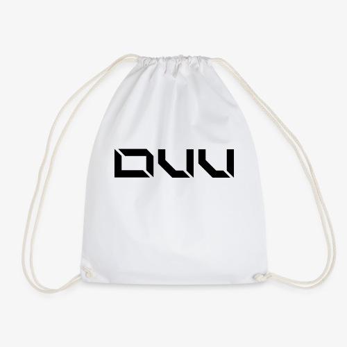 DUU Logo Vektor Schwarz - Turnbeutel