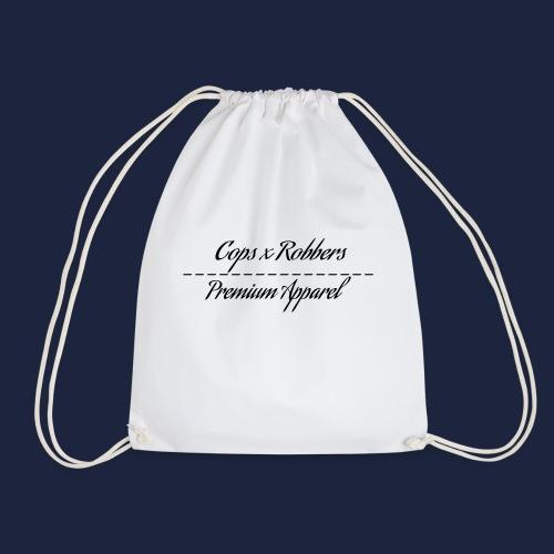CxR Raglan with Premium Apparel large print across - Drawstring Bag
