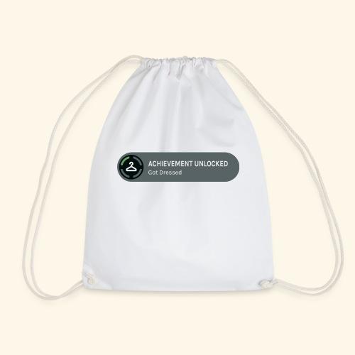 Achievement Unlocked: Got Dressed - Drawstring Bag