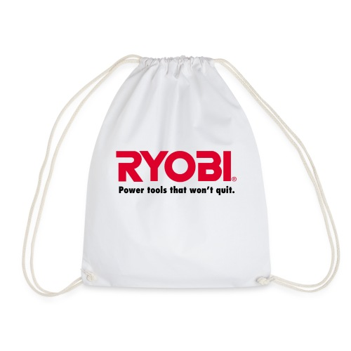 Ryobi Power Tools That Won't Quit - Drawstring Bag