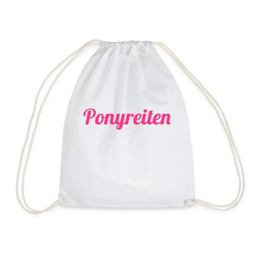 Ponyreiten - Turnbeutel