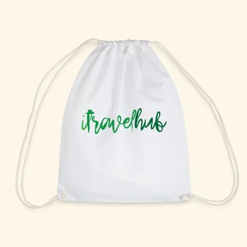 itravelhub logo - Drawstring Bag