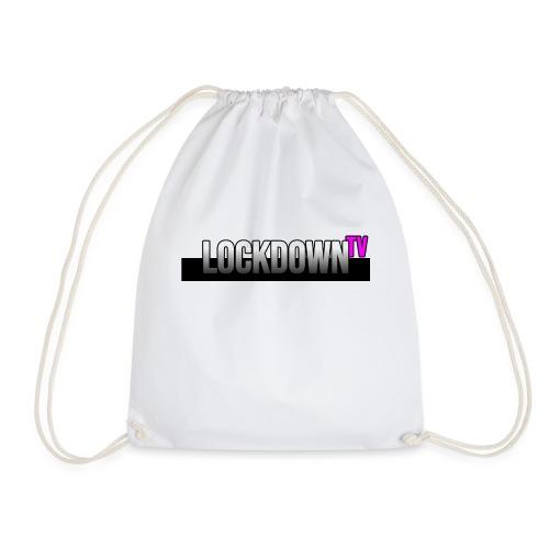 lockdown tv logo - Turnbeutel