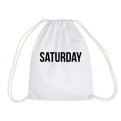 Saturday - Drawstring Bag