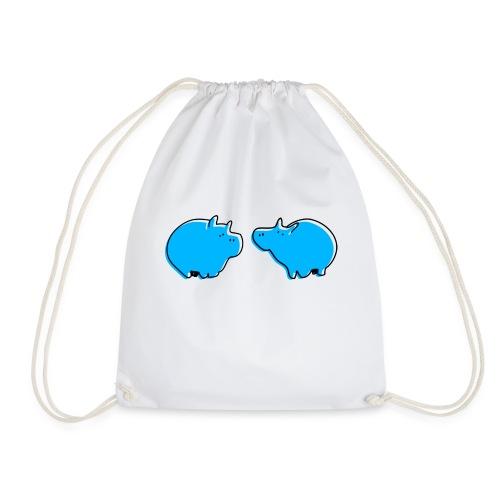 Cochons bleus - Sac de sport léger