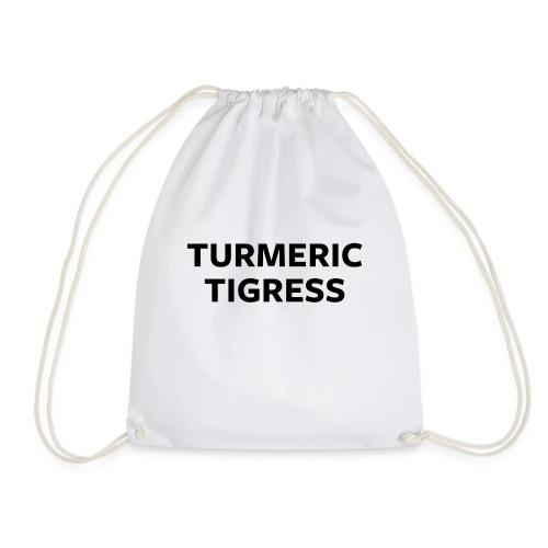 Turmeric Tigress - Drawstring Bag
