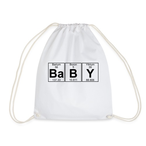 Ba-B-Y (baby) - Full - Drawstring Bag