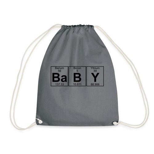 Ba-B-Y (baby) - Full - Drawstring Bag