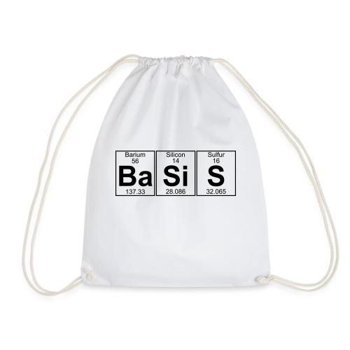 Ba-Si-S (basis) - Full - Drawstring Bag