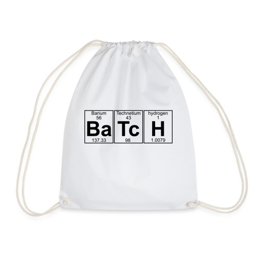 Ba-Tc-H (batch) - Full - Drawstring Bag
