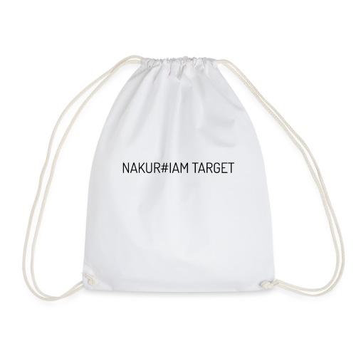 Wlepa Nakur#iam Target - Worek gimnastyczny