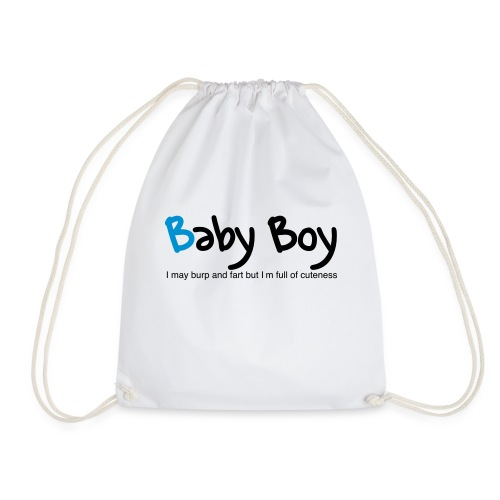 Baby Boy - Drawstring Bag