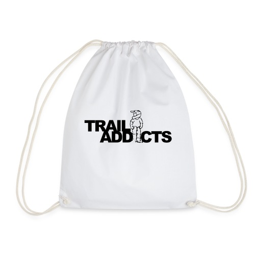 Trail addicts logo tshirt png - Gymtas