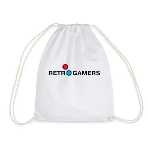 Logo Retrogamers Negro - Mochila saco