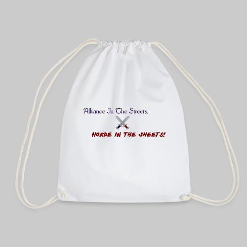 Alliance Horde Meme - Drawstring Bag