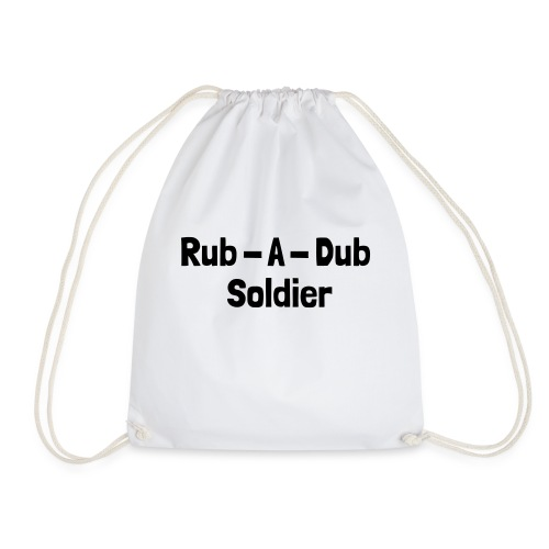 Rub - A - Dub Soldier - Turnbeutel