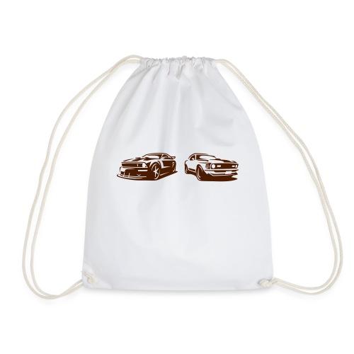 2 Ponies - Drawstring Bag
