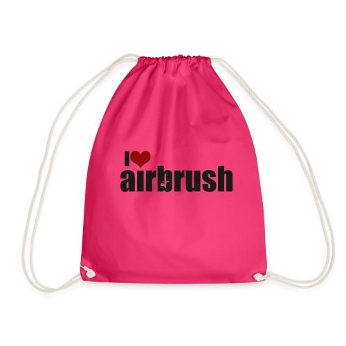 I Love airbrush - Turnbeutel