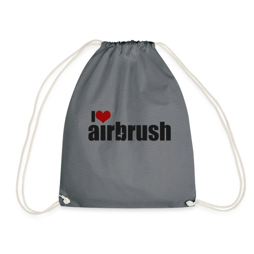 I Love airbrush - Turnbeutel