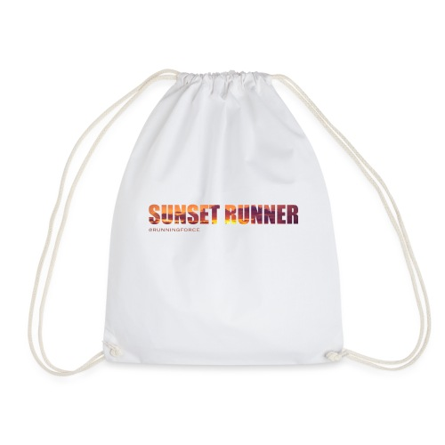 Sunset Runner - @RUNNINGFORCE - Turnbeutel