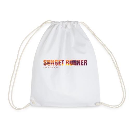 Sunset Runner - @RUNNINGFORCE - Turnbeutel